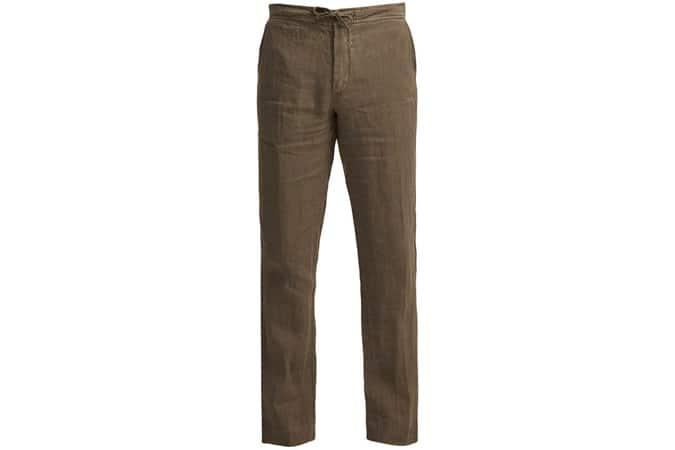 Pantalon en lin Copenhagen 1235