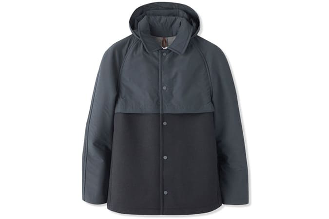 Le Coach Jacket - Navy/Grey