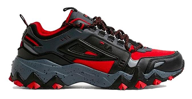 FILA Oakmont TR - Baskets noires et rouges