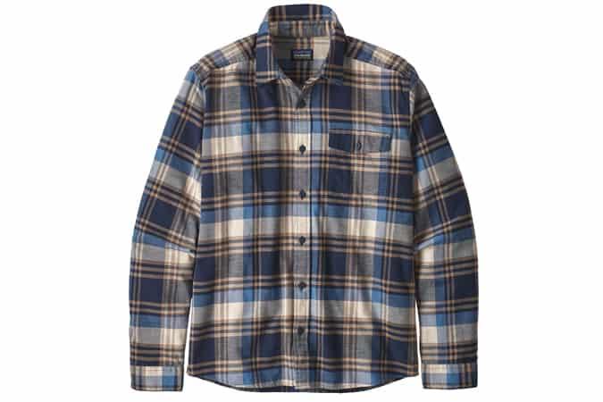 Chemise en flanelle légère à manches longues pour hommes Patagonia Fjord