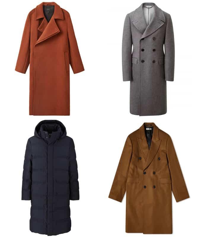 Meilleurs manteaux longs pour hommes
