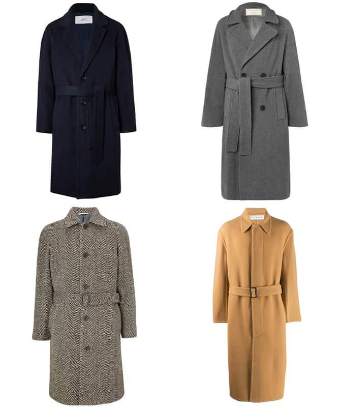Meilleurs manteaux ceinturés pour hommes