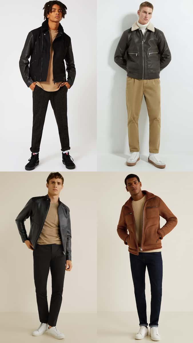 Comment porter une veste en similicuir