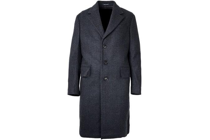 Manteau classique A Day's March - Laine à carreaux