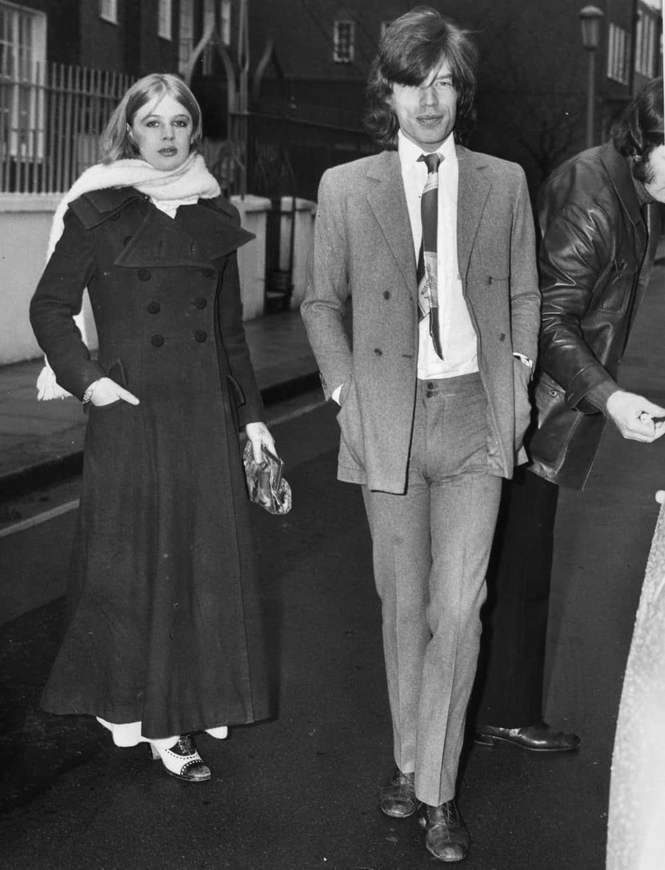 Mick Jagger en route pour le tribunal