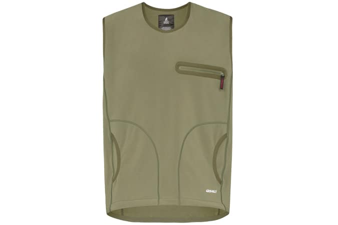 Gramicci Green Storm Fleece Sweater Vest