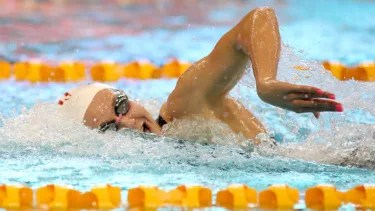Titmus sets 200m freestyle Commonwealth record