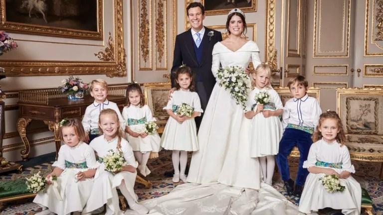 Buckingham Palace Shares Princess Eugenie's Official