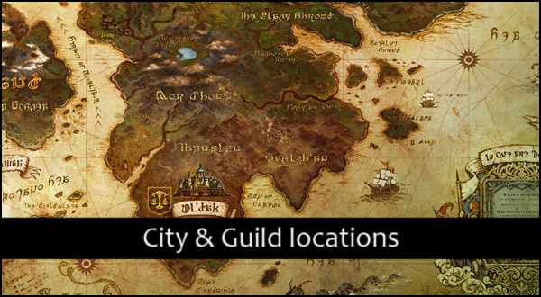 FFXIV A Realm Reborn Maps Of City Amp Guilds FFXIV Guild
