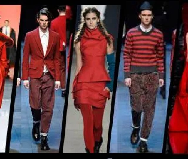 On The Way To The Seasons Boldest Trend Hues Of Vermillion Scarlet Cherry And Crimson Can Pack A Wallop Of Modernity To Ones Style Statement