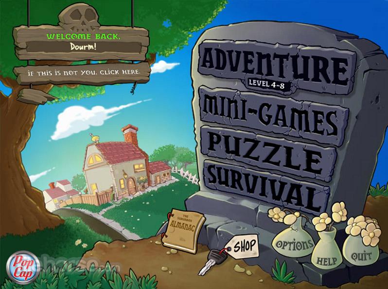 Game Plant Zombie