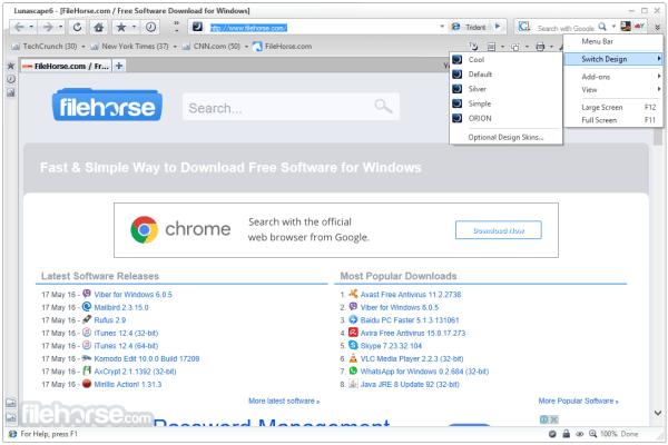 Lunascape Browser 615127563 Download for Windows