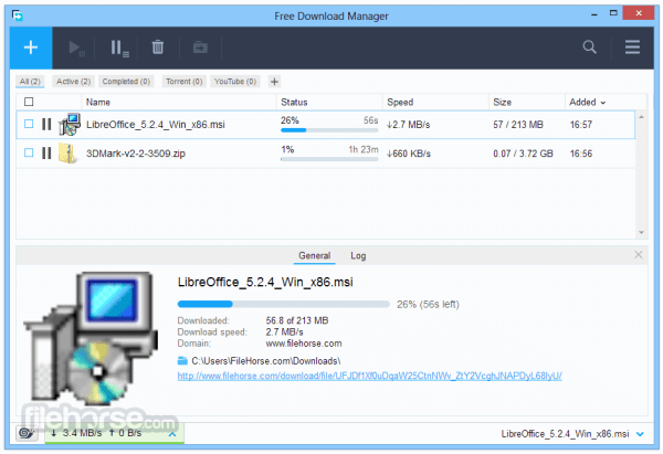 Free Download Manager (64-bit) Download (2020 Latest) for PC
