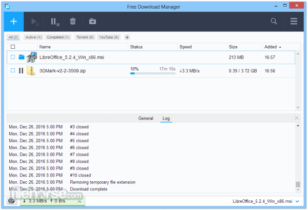 Free Download Manager 3.9.6 Build 1614 Download for ...