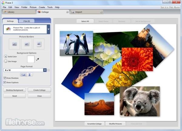Picasa 3.9 Build 141.303 Download for Windows / FileHorse.com