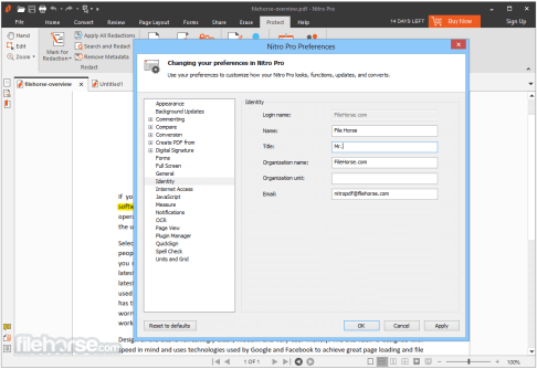Nitro Pro 13.9.2.356 Crack With Keygen Free Download 2020