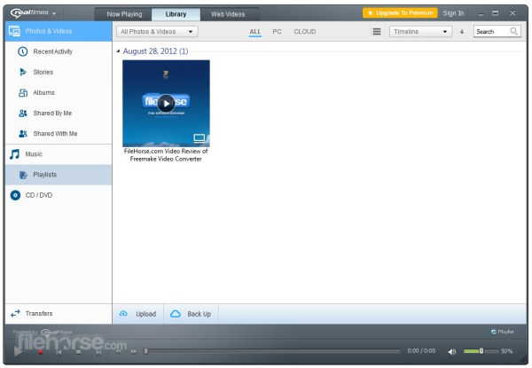 RealPlayer 1819106 Download for Windows FileHorsecom