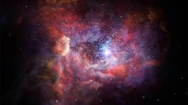 Fosil Yıldıztozu İlk Yıldızları Aydınlatıyor