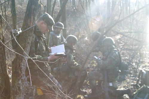 ROTC cadets during Operation Huskie Thaw.