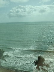 Recife Brazil, Hotel view of Atlantic