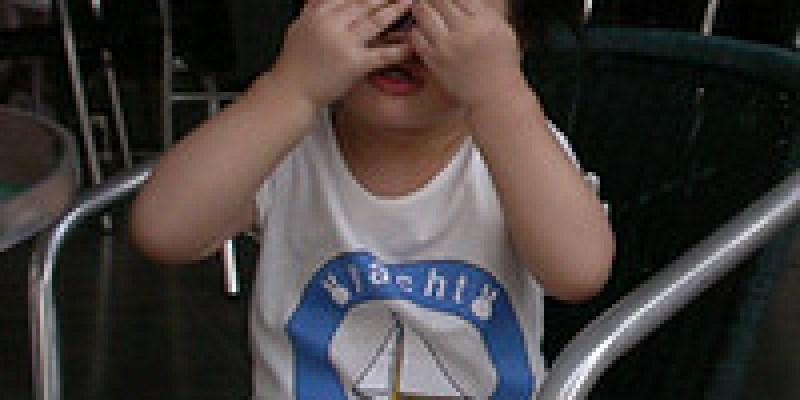 愛製造問題的兩歲兒(2.3ys)