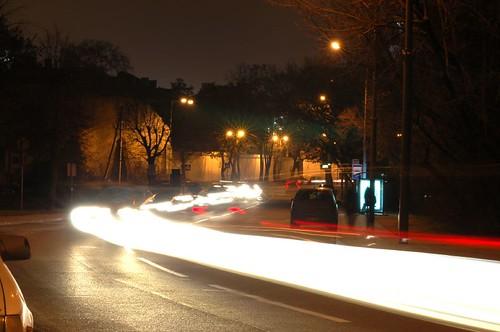 Užupis at night