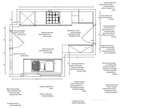 New kitchen - plan