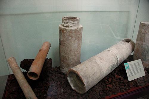 Xochilcalco - 29 Water Pipes