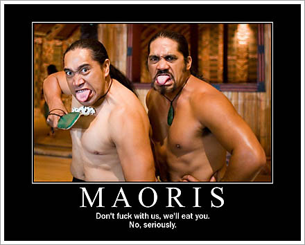 I just learned about an explanation for Māori tattoos besides being