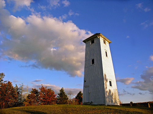 White tower of the Gaspereau Valley