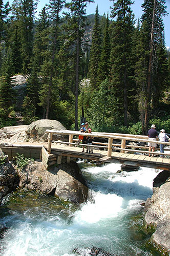 Grand Teton - En route to Hidden Falls