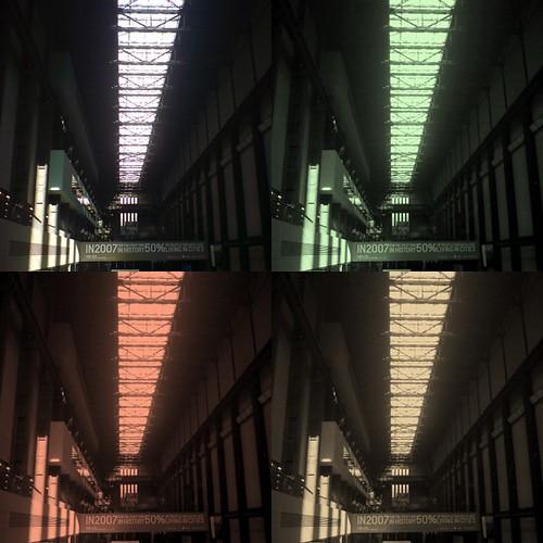 Turbine Hall grid