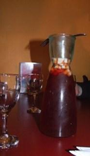 Carafe of Sangria ($14) Pot of Gold Mexican Cantina, Wollongong