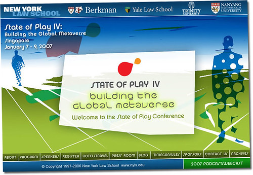 State Of Play IV conference @ Singapore