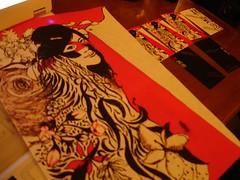 林凱洛的圖騰與名片草稿