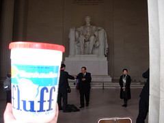 Fluff and Abe and Some Tourists