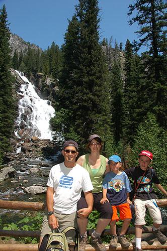 Grand Teton - Hidden Falls