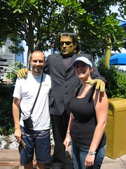 Rob, Frankenstein, and me