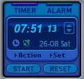 Alarm and Timer Screenshot