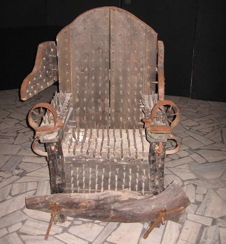Krzesło inkwizytora