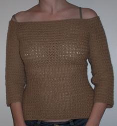 alpaca sweater FO