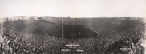 Michigan Stadium Official Opening
