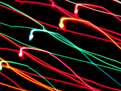 Laced Christmas Lights