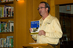 Bill Thompson III with one of his first bird books
