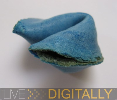 Blue Fortune Cookie
