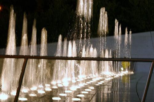 fountains going wild