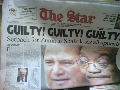 Shaik headline