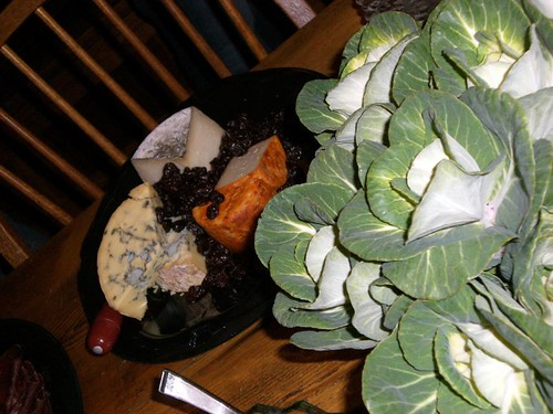 Stinky Brooklyn Cheese & Cabbage Centerpiece