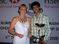 Gaurav Nandrajog and Mandy Kennedy win HSBC Maharashtra Squash