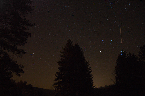 stars and clear sky